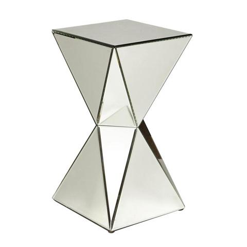Pulaski - Triangular Mirrored Accent Table - 730203