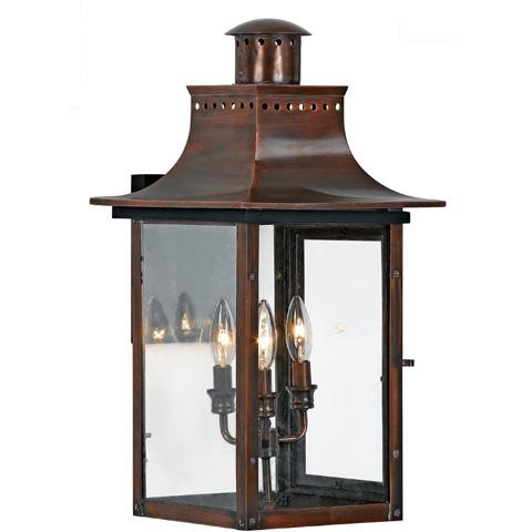 Quoizel - Chalmers Outdoor Lantern - CM8412AC