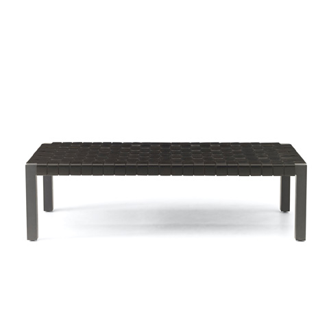Ralph Lauren by EJ Victor - Downtown Modern Woven Leather Bench - 20000-08