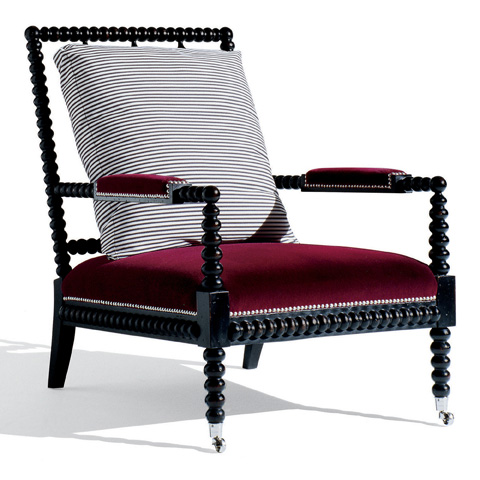 Ralph Lauren by EJ Victor - New Bohemian Spindle Chair - 138-03