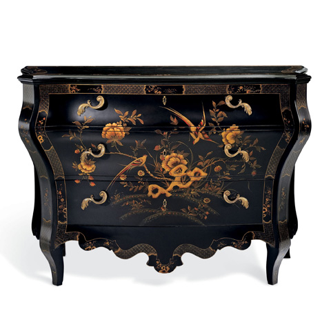 Ralph Lauren by EJ Victor - The Heiress Painted Bombe Chest - 7501-48