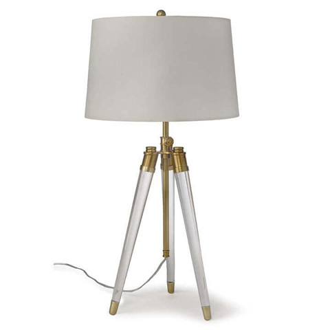 Regina Andrew Design - Acrylic Tripod Table Lamp - 55-11-0145
