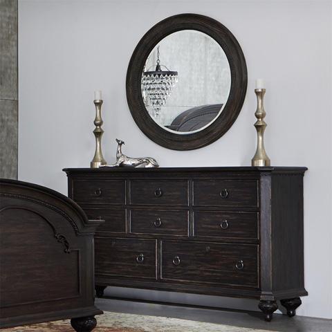 Riverside Furniture - Round Mirror - 11862