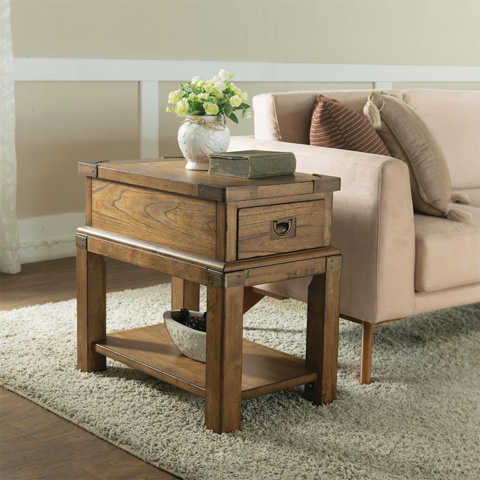 Riverside Furniture - Chairside Table - 16112