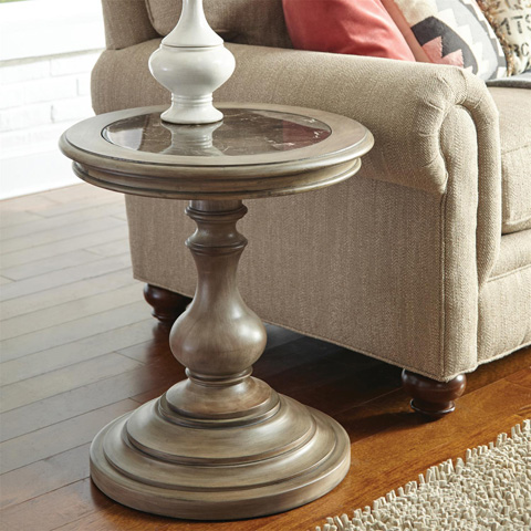 Riverside Furniture - Round Side Table - 21509