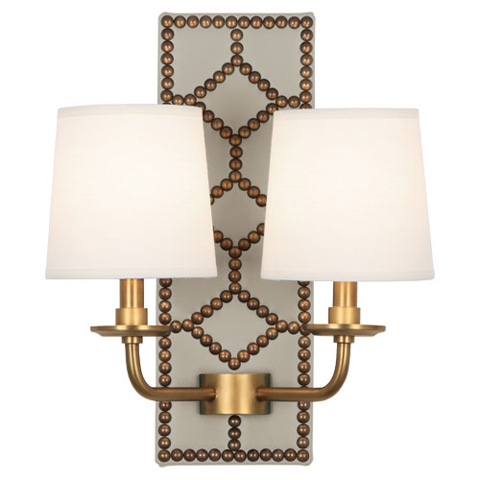 Robert Abbey, Inc., - Williamsburg Lightfoot Wall Sconce - 352