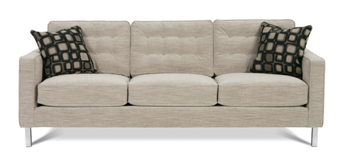 Rowe Furniture - Abbott Chrome Leg Sofa - N120C-002