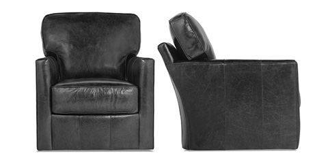 Rowe Furniture - Evan Leather Chair - P340-L-016