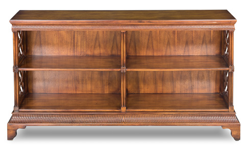 Sarreid Ltd. - Double Chepstow Bookcase - 22619