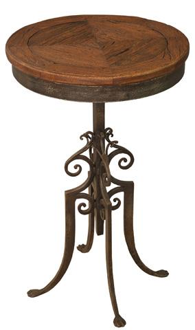Sarreid Ltd. - Paris Cafe Table Wood Top - 25237