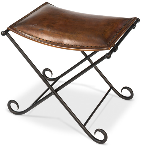 Sarreid Ltd. - Leather Field Chair - 26877