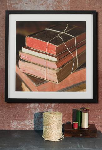 Sarreid Ltd. - Framed Artist Edition Print Square - 28727