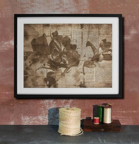 Sarreid Ltd. - Framed Artist Edition Print Rectangle - 28742