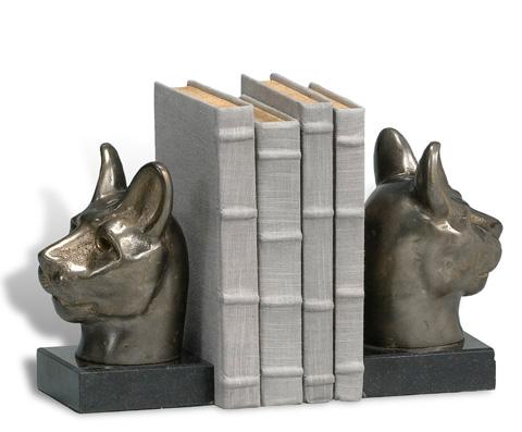 Sarreid Ltd. - Bust Of Cat Pair Dark Bronze - 29309