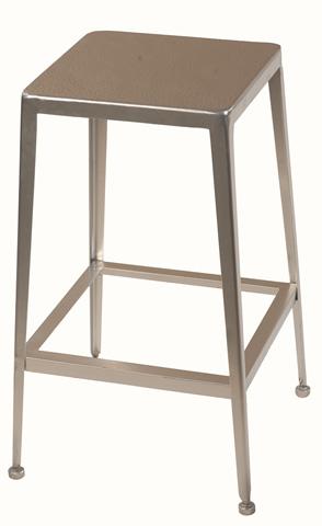 Sarreid Ltd. - Silver Counter Stool - 29314