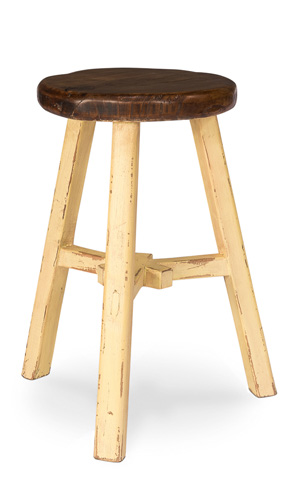 Sarreid Ltd. - Replica Rural Painter Stool - 30087