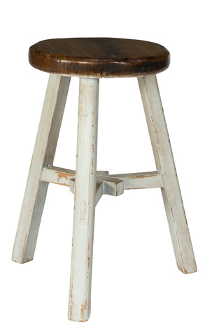 Sarreid Ltd. - Replica Rural Painter Stool - 30088