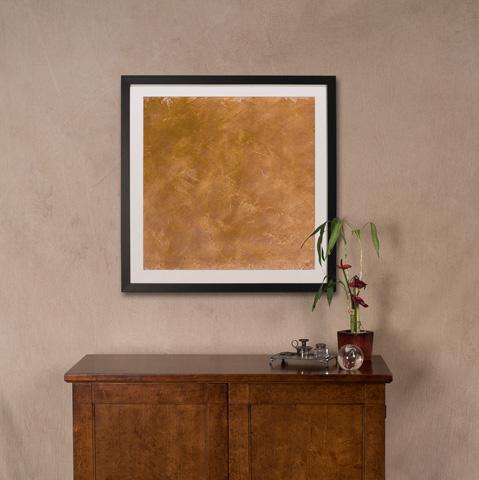 Sarreid Ltd. - Yellow Paint Giclee Print - 30187