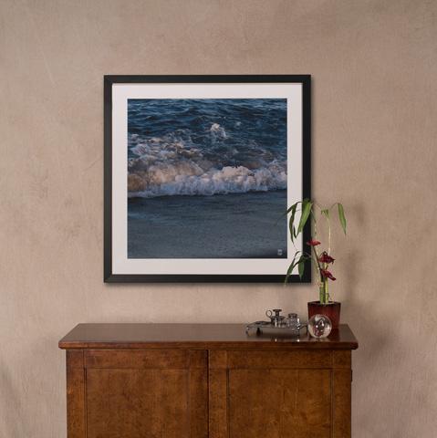 Sarreid Ltd. - Ocean Wave Giclee Print - 30219