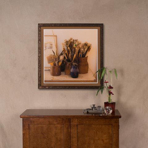 Sarreid Ltd. - Multiple Paint Brushes Giclee Print - 30239