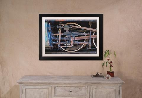 Sarreid Ltd. - Locomotive Giclee Print - 30249