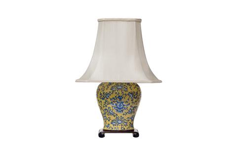Sarreid Ltd. - Porcelain Ginger Jar Lamp - OKLV78
