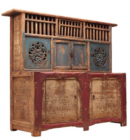 Sarreid Ltd. - Buddha Cabinet - SA-4770