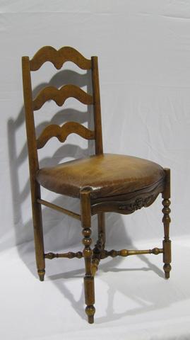 Sarreid Ltd. - Antique French Side Chair - SFV381AS
