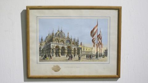 Sarreid Ltd. - Piazza San Marco Italian Print - SFV581AS