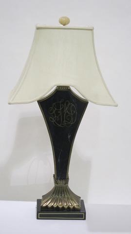 Sarreid Ltd. - Black Lacquer Table Lamp - SFV602AS