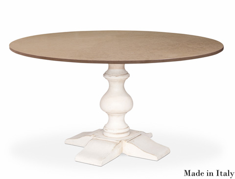Sarreid Ltd. - Aldo Round Dining Table - R026M2-37