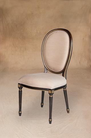 Sarreid Ltd. - Louis XVI Dining Side Chair - V00136