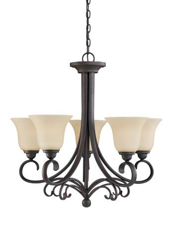 Sea Gull Lighting - Five Light Chandelier - 31122-820