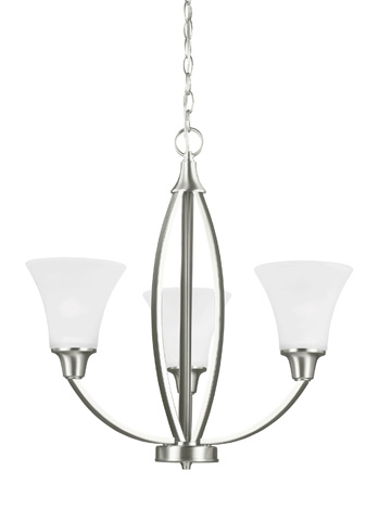 Sea Gull Lighting - Three Light Chandelier - 3113203-962
