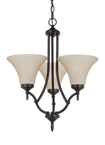 Sea Gull Lighting - Three Light Chandelier - 31180-710