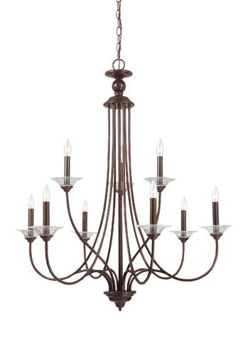 Sea Gull Lighting - Nine Light Chandelier - 31319-710