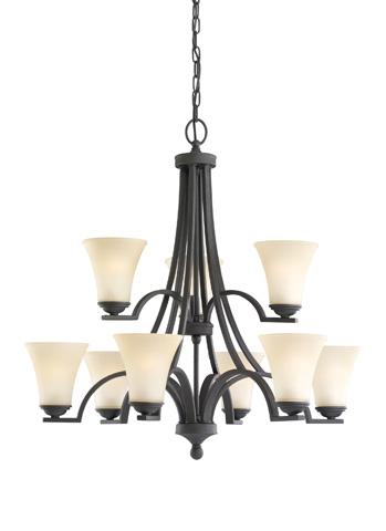 Sea Gull Lighting - Nine Light Chandelier - 31377-839