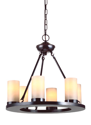 Sea Gull Lighting - Six Light Chandelier - 31586-710