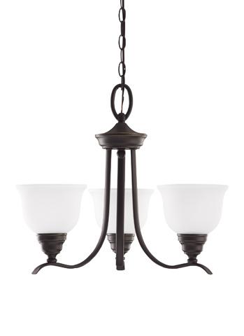 Sea Gull Lighting - Three Light Chandelier - 31625-782