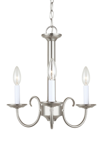 Sea Gull Lighting - Three Light Chandelier - 31807-962