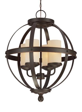 Sea Gull Lighting - Four Light Chandelier - 3190404-715