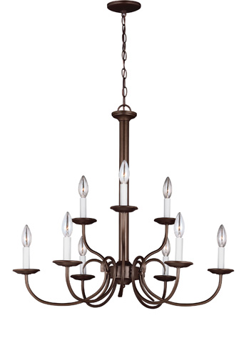 Sea Gull Lighting - Nine Light Chandelier - 32810-827