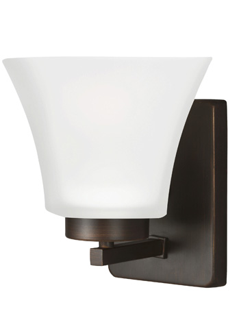 Sea Gull Lighting - One Light Wall / Bath Sconce - 4111601-710