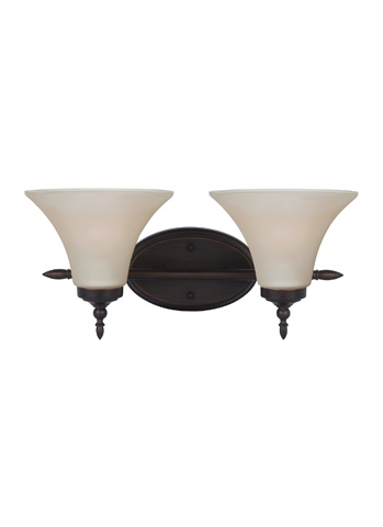 Sea Gull Lighting - Two Light Wall / Bath Sconce - 41181-710