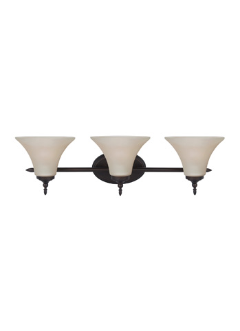 Sea Gull Lighting - Three Light Wall / Bath Sconce - 41182-710