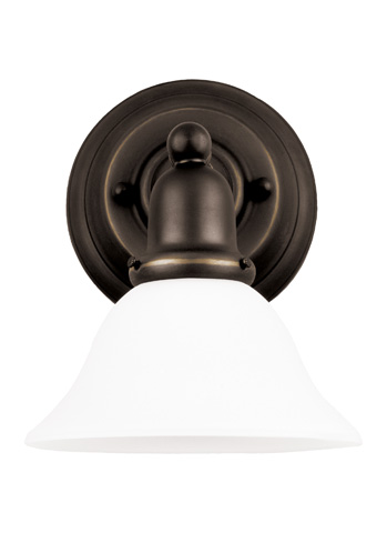 Sea Gull Lighting - One Light Wall / Bath Sconce - 44060-782