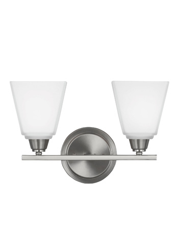 Sea Gull Lighting - Two Light Wall / Bath Sconce - 4413002-962