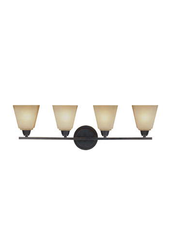 Sea Gull Lighting - Four Light Wall / Bath Sconce - 4413004-845
