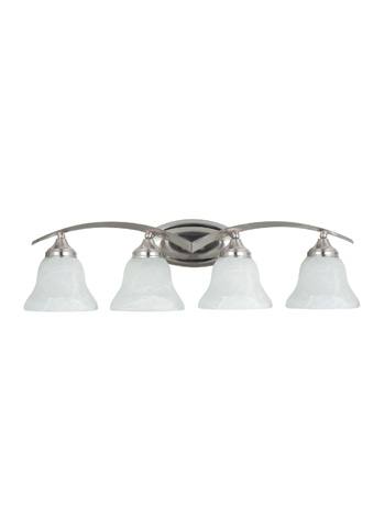 Sea Gull Lighting - Four Light Wall / Bath Sconce - 44177-962
