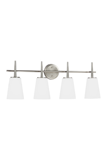 Sea Gull Lighting - Four Light Wall / Bath Sconce - 4440404-962